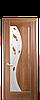 Дверь межкомнатная ЭСКАДА СО СТЕКЛОМ САТИН И РИСУНКОМ №2, фото 2