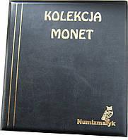 Подарочный альбом для монет Kolekcja 221 ячейка Черный