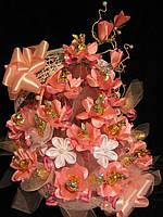 Букет из конфет на юбилей Розовое кружево