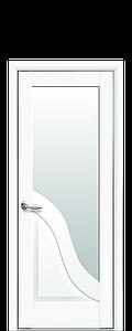 Дверь межкомнатная АМАТА СО СТЕКЛОМ САТИН