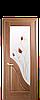 Дверь межкомнатная АМАТА СО СТЕКЛОМ САТИН И РИСУНКОМ №1, фото 3