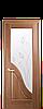 Дверь межкомнатная АМАТА СО СТЕКЛОМ САТИН И РИСУНКОМ №2, фото 4