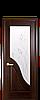 Дверь межкомнатная АМАТА СО СТЕКЛОМ САТИН И РИСУНКОМ №2, фото 5