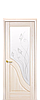 Дверь межкомнатная АМАТА СО СТЕКЛОМ САТИН И РИСУНКОМ №2, фото 6