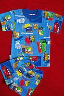 Детский хлопковый комплект для мальчика тачки