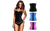 Корректирующий женский пояс SKULPTING CLOTHES   (PL+эластан, р-р S-XL, черный, малин., синий)
