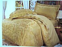 Комплект постельного белья евро сатин жаккард