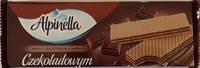 Шоколадные  вафли Alpinella с шоколадной начинкой, 150 гр