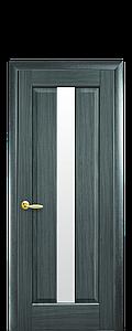 Дверь межкомнатная ПРЕМЬЕРА СО СТЕКЛОМ САТИН