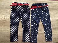 100% хлопковые джинсы-скинни  на девочку на рост 92-122