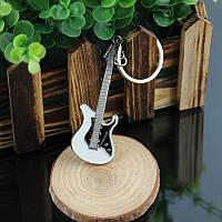 Брелок Гитара серебро