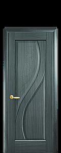Дверь межкомнатная ПРИМА ГЛУХОЕ С ГРАВИРОВКОЙ