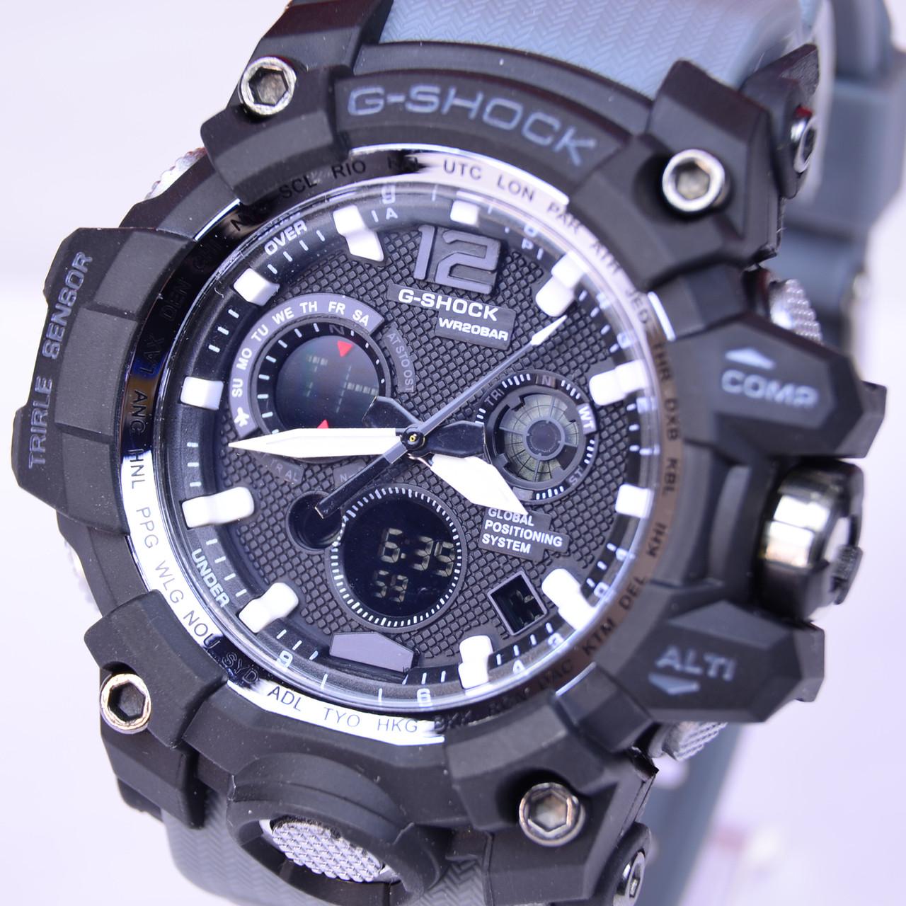 Часы наручные G-SHOCK черные с серым