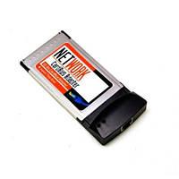 PCMCIA Ethernet RJ45 сетевая карта