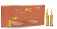 Ампулы для защиты кожи головы и волос при окрашивании, хим обработки Dikson Setamyl 12*12мл