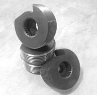 Гребенка круглая к винторезным головкам 3-1.25 Р6М5, к-т 4шт