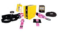 TRX петли подвесные тренировочные Pro Pack Home Pink , фото 1