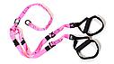 TRX петли подвесные тренировочные Pro Pack Home Pink , фото 3