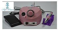 Фрезерный аппарат фрезер Nail Drill Master ZS-601 30 000 оборотов розовый