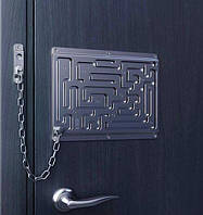 Входные креативные двери с цепочкой для любителей головоломок и лабиринтов