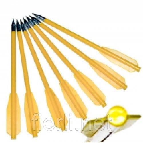 Стрелы для арбалета 16 см  (12 ШТ) пластиковые