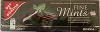 Черный  шоколад Fine mints G&G  , 300 гр