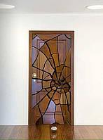 """Необычная """"разбитая"""" дверь"""