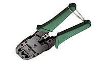 ITK Инструмент обжим. для RJ45 RJ12 RJ11 ручка ПВХ зеленый