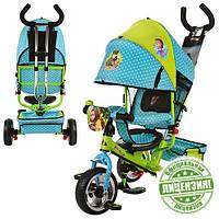 Детский трехколесный велосипед Cartoon Маша и Медведь с колесами Eva Foam
