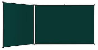 Доска аудиторная магнитная меловая 3х1 м Интеллект