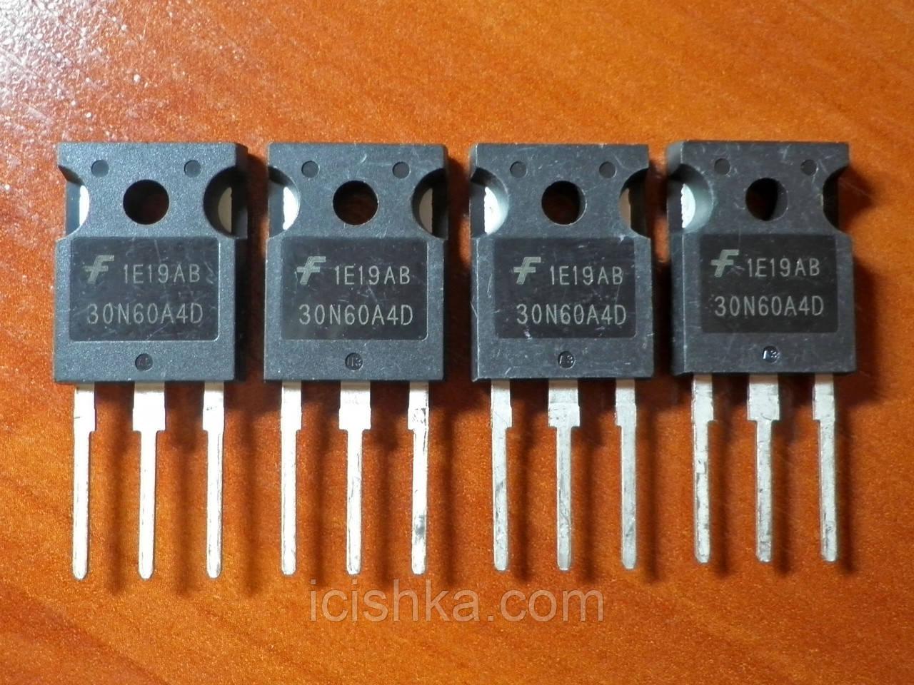 HGTG30N60A4D / 30N60 TO-247 - 600V 30A NPT IGBT транзистор