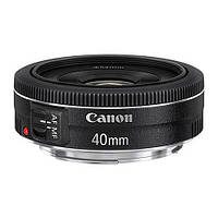 Объектив Canon EF 40mm f/2.8 STM Pancake (в наличии на складе)