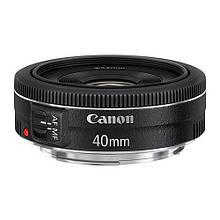Объектив Canon EF 40mm f/2.8 STM уценка