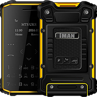 IMAN S1 Pro, водонепроницаемый телефон-кредитка, IP-67, память 8 GB, Bluetooth 3.0, шагомер, функция Anti-Lost
