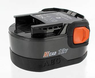 Аккумулятор AEG B1214G 12В 1,4Ач NiCd