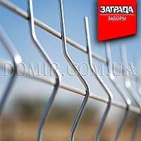 Забор оцинкованный секционный из сварной сетки Заграда