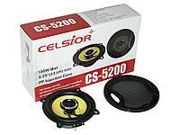 Колонки динамики акустика CELSIOR 5200 yellow 13см на для в авто машину