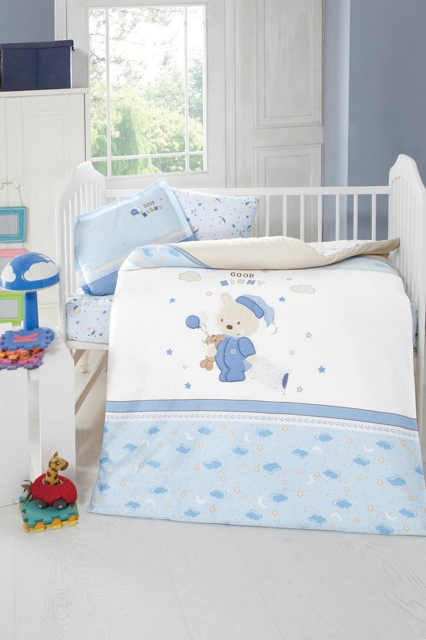 Детская постель с 3D-вышивкой Sleepy, Luoca Patisca