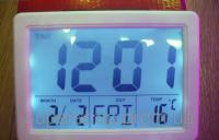 Настольные Часы Digital Clock 1256, фото 1