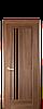 Дверь межкомнатная ДЕЛЛИТА С ЧЕРНЫМ СТЕКЛОМ, фото 4