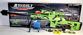 Автомат AK47-7 c гелевыми пулями, аккумулятором, очками