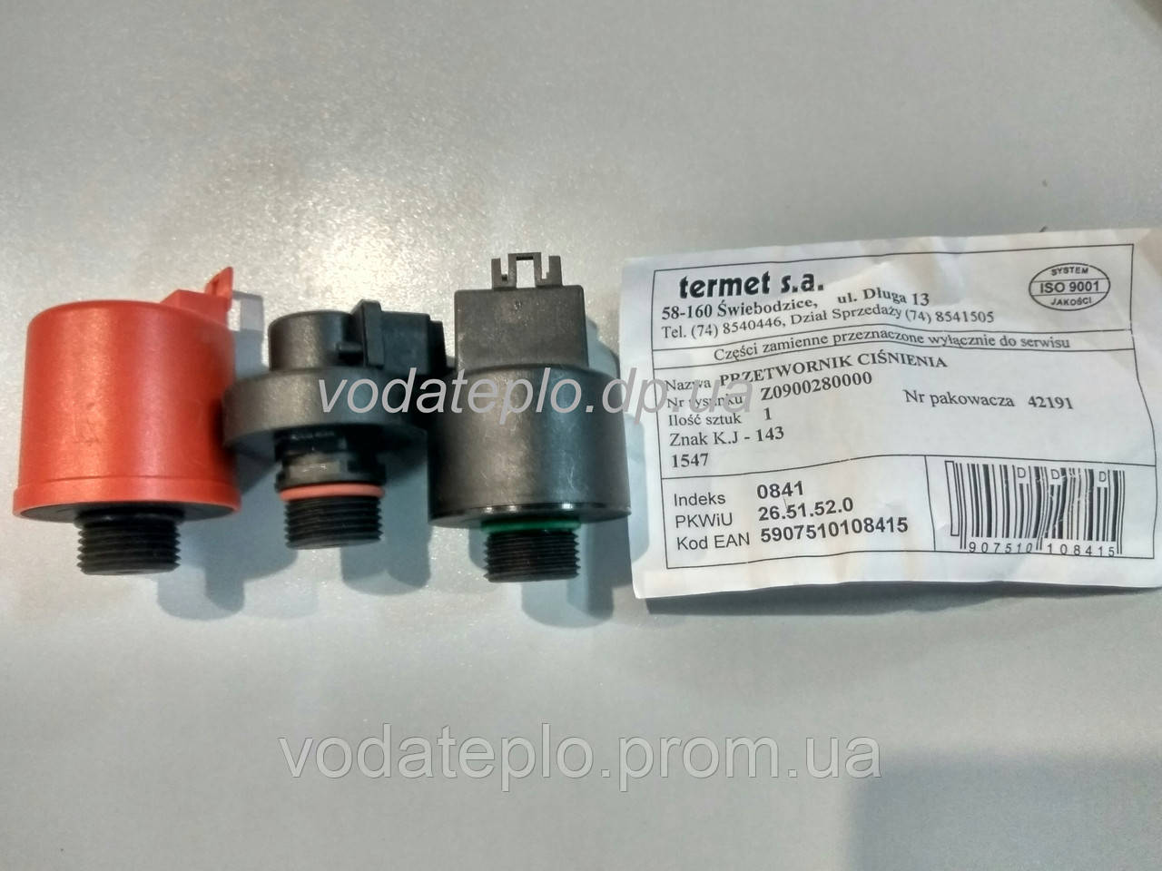 Z0900.28.00.00 Преобразователь давления Termet - ООО Вода Тепло интернет магазин в Днепре