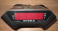 Электронные часы SUPRA CR-806P с будильником и FM радио, фото 1