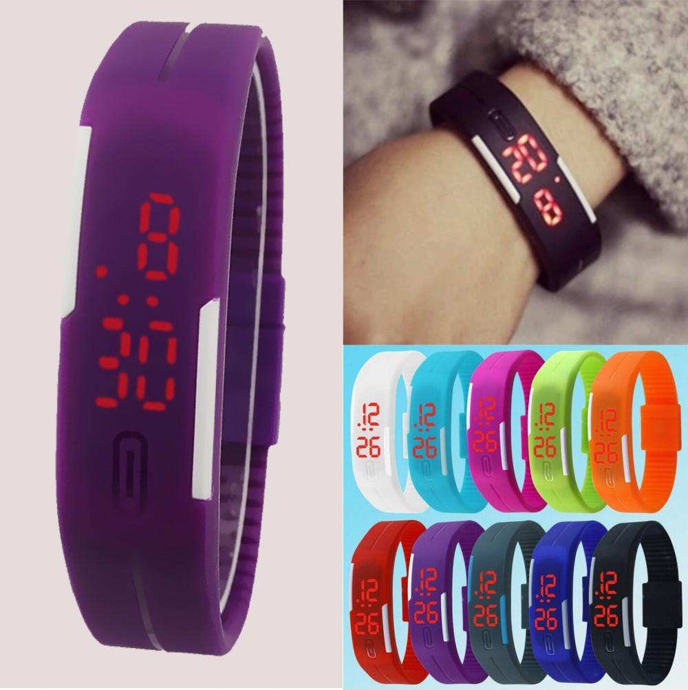 Спортивные силиконовые LED часы  продажа 15fa3d0b2d76d