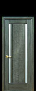 Дверь межкомнатная ЛУИЗА СО СТЕКЛОМ САТИН