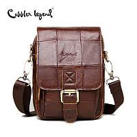 Мужская сумка-мессенджер  из натуральной кожи от Cobbler Legend