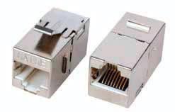 Розетки, адаптеры и модули Keystone ITK
