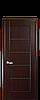 Дверь межкомнатная МИРА С ЧЕРНЫМ СТЕКЛОМ, фото 2