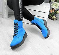 Женские стильные демисезонные ботинки на шнуровке  36 38 39 40