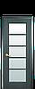 Дверь межкомнатная МУЗА СО СТЕКЛОМ САТИН, фото 4